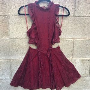 Nasty Gal Gorgeous Lace Sexy Mini Dress SZ S NWT